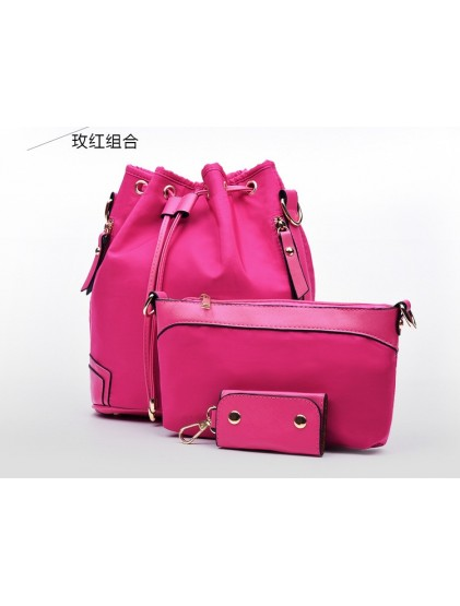 DCS6602 (3IN1 Ransel & Selempang) PINK