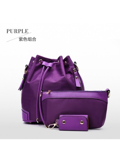 DCS6602 (3IN1 Ransel & Selempang) PURPLE